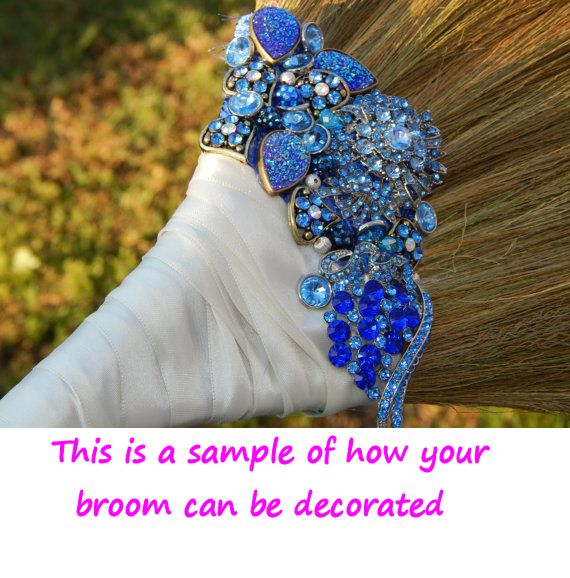 Undecorated African Wedding Jump Broom Undecorated